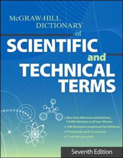 Cover of the book Dictionary of scientific & technical terms
