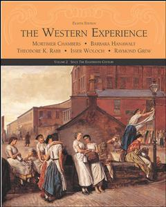 Couverture de l'ouvrage The western experience, (volume 2) with powerweb (8th ed )