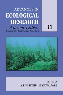 Cover of the book Ancient Lakes: Biodiversity, Ecology and Evolution