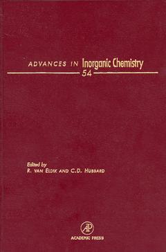 Cover of the book Advances in Inorganic Chemistry