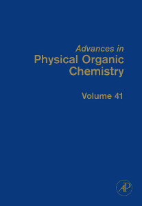 Cover of the book Advances in Physical Organic Chemistry
