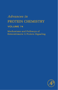 Cover of the book Mechanisms and Pathways of Heterotrimeric G Protein Signaling
