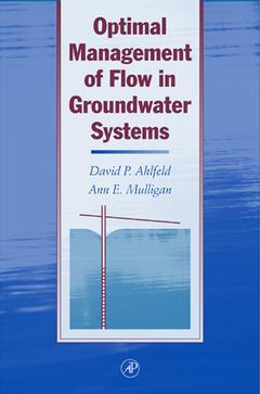 Cover of the book Optimal Management of Flow in Groundwater Systems