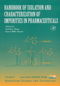 Cover of the book Handbook of Isolation and Characterization of Impurities in Pharmaceuticals
