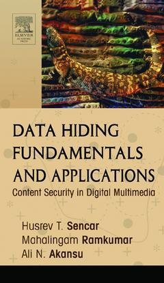 Cover of the book Data Hiding Fundamentals and Applications