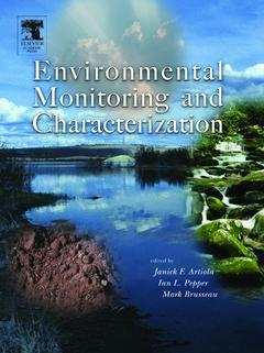 Couverture de l'ouvrage Environmental Monitoring and Characterization