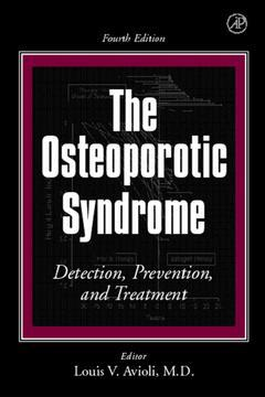 Cover of the book The Osteoporotic Syndrome