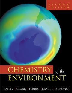 Cover of the book Chemistry of the Environment