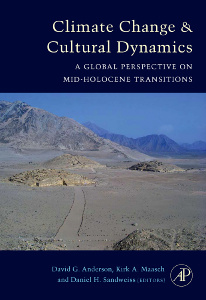 Cover of the book Climate Change and Cultural Dynamics