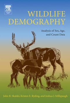 Couverture de l'ouvrage Wildlife Demography