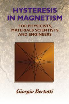 Cover of the book Hysteresis in Magnetism
