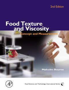 Cover of the book Food Texture and Viscosity