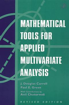 Cover of the book Mathematical Tools for Applied Multivariate Analysis
