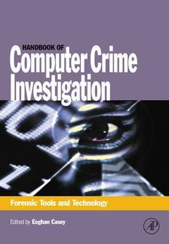 Cover of the book Handbook of Computer Crime Investigation