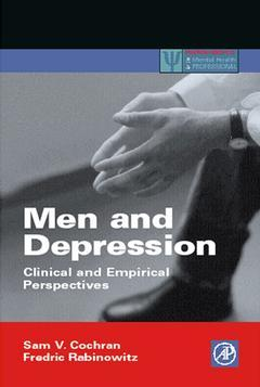 Cover of the book Men and Depression