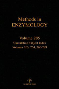 Cover of the book Cumulative Subject Index, Volumes 263, 264, 266-289