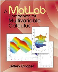 Cover of the book A Matlab Companion for Multivariable Calculus