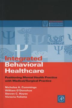 Cover of the book Integrated Behavioral Healthcare