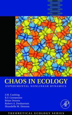 Cover of the book Chaos in Ecology