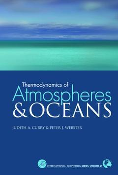 Cover of the book Thermodynamics of Atmospheres and Oceans