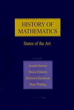 Cover of the book History of Mathematics