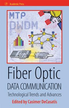 Cover of the book Fiber Optic Data Communication