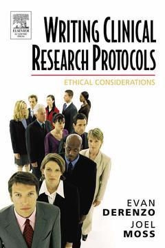 Cover of the book Writing Clinical Research Protocols