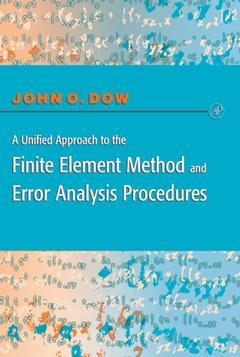 Cover of the book A Unified Approach to the Finite Element Method and Error Analysis Procedures