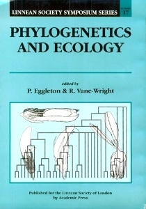 Cover of the book Phylogenetics and Ecology