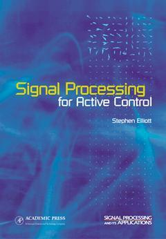 Cover of the book Signal Processing for Active Control
