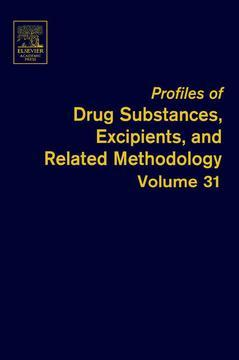 Couverture de l'ouvrage Profiles of Drug Substances, Excipients and Related Methodology