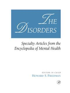 Cover of the book The Disorders