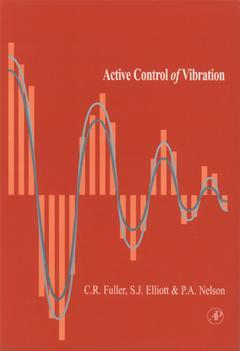 Cover of the book Active Control of Vibration