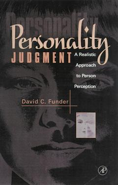Cover of the book Personality Judgment