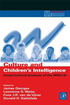 Cover of the book Culture and Children's Intelligence