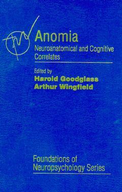 Cover of the book Anomia