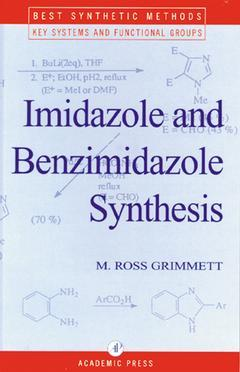 Cover of the book Imidazole and Benzimidazole Synthesis