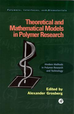 Cover of the book Theoretical and Mathematical Models in Polymer Research
