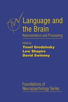 Cover of the book Language and the Brain