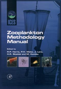 Cover of the book ICES Zooplankton Methodology Manual