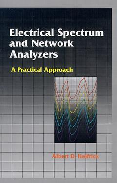 Cover of the book Electrical Spectrum and Network Analyzers