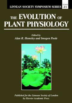 Cover of the book The Evolution of Plant Physiology