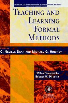Cover of the book Teaching and Learning Formal Methods