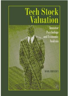 Cover of the book Tech Stock Valuation