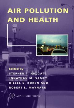 Couverture de l'ouvrage Air Pollution and Health