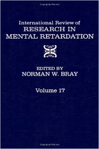 Cover of the book International review of research on mental retardation vol 17