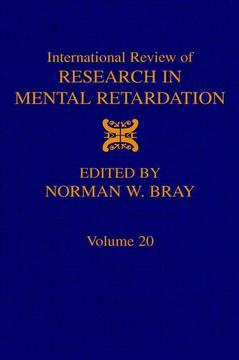 Cover of the book International Review of Research in Mental Retardation