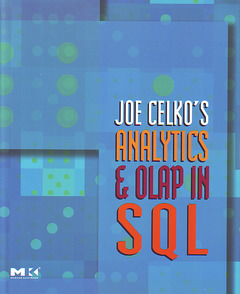 Couverture de l'ouvrage Joe Celko's Analytics and OLAP in SQL