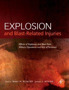Cover of the book Explosion and Blast-Related Injuries