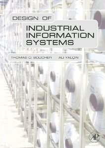 Cover of the book Design of Industrial Information Systems